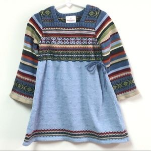 Hannah Andersson  knit sweater dress size 100